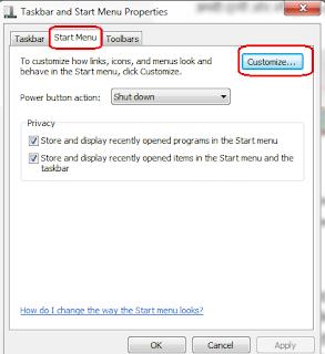 How to add  folder in Start menu
