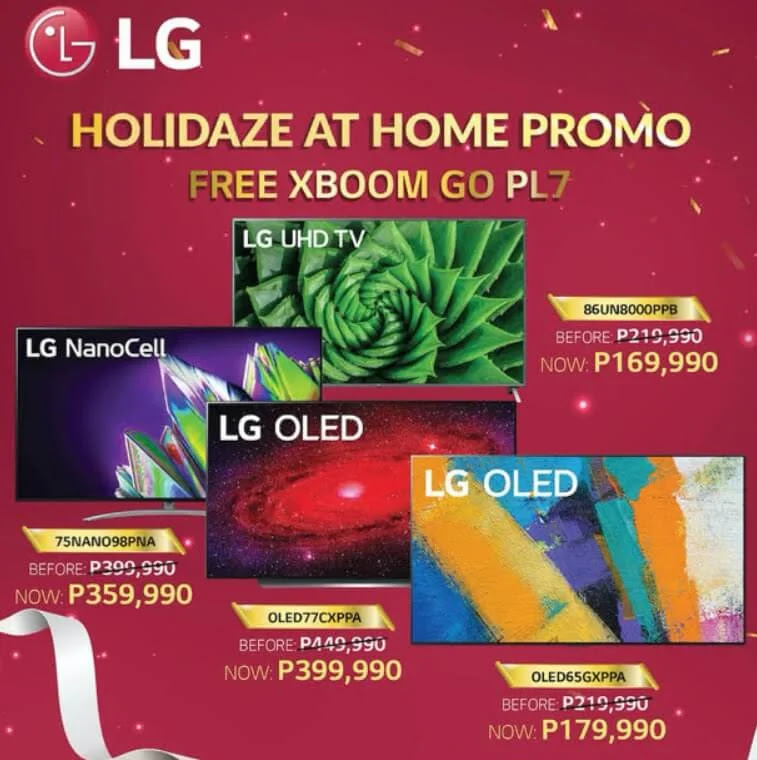 Celebrate Holidaze at Home with LG