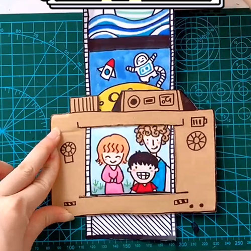 DIY Cardboard Camera | DIY Toy for Kids