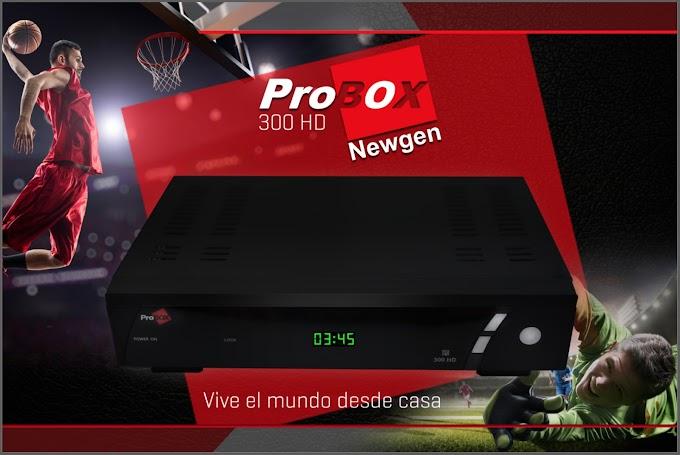 PROBOX 300 HD ATUALIZAÇÃO V1.43s - 30/09/2017