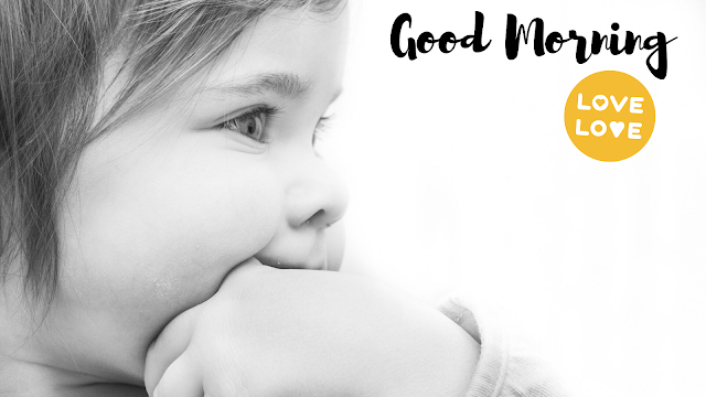 Thinking Baby Good Morning Images