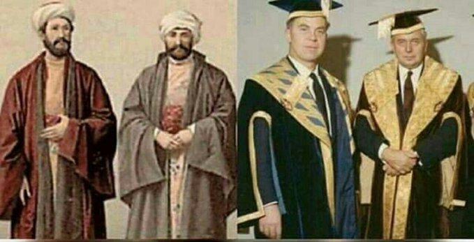 Toga Bukanlah Baju Pendeta, Dia Warisan Kekhalifahan