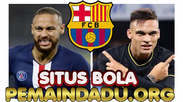 Pelatih Barcelona Menunggu Kedatangan Neymar Dan Lautaro Martinez