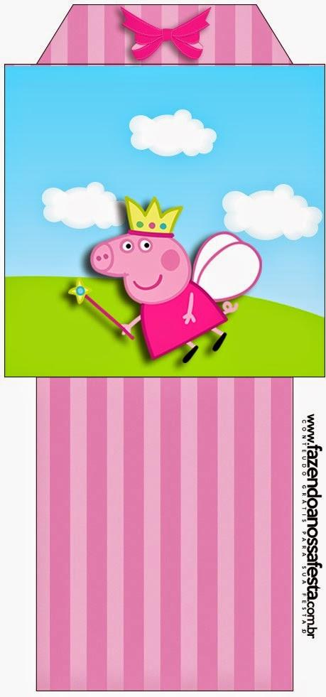Imprimibles gratis de Peppa Pig Hada.