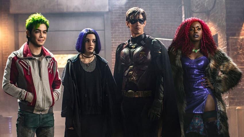 Титаны, Сериалы, DC, DC Universe, 2018, Titans, TV Series