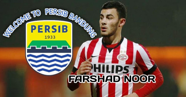 Persib Bandung Brings New Foreign Players This is Profile of FarshadNoor