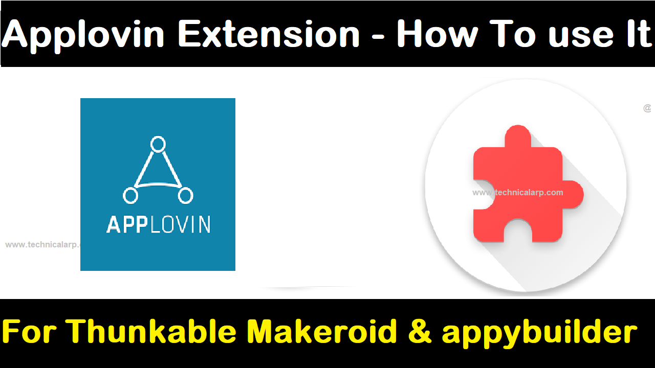 Applovin Extension - How to use Applovin Extension ~ Technical Arp
