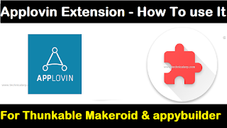 How to use Applovin Extension