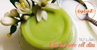 Chè bơ nước cốt dừa cách làm ngọt thanh béo mịn 3