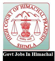 The High Court of Himachal Pradesh invites online applications from the eligible desirous candidates for filling up one vacant post of Junior Technician. All Interested candidates apply online before 15 November 2018.