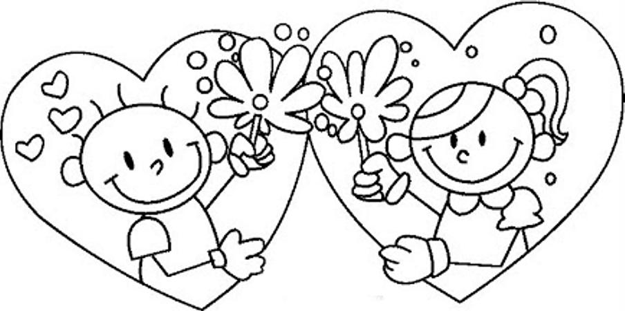 Dibujos Y Plantillas Para Imprimir Dibujos Para San Valentin