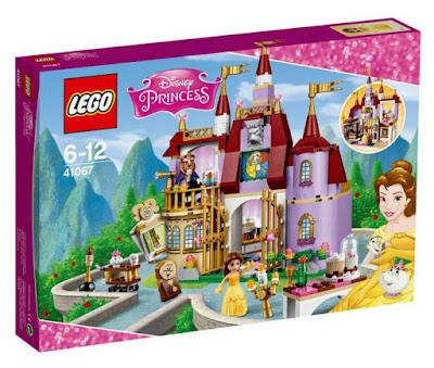 TOYS : JUGUETES - LEGO Princesas Disney  41067 El Castillo Encantado de Bella  Belle's Enchanted Castle   Disney Princess | Piezas: | Edad: 6-12 años  Comprar en Amazon España & buy Amazon USA