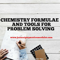 CHEMISTRY FORMULAE AND TOOLS FOR PROBLEM SOLVING.