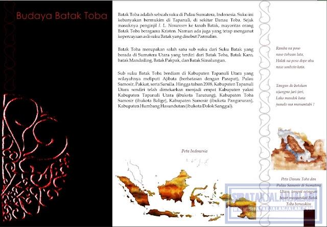 sketsa budaya batak toba