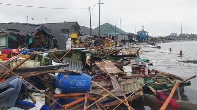 Dua Penyebab Ini Diduga Picu Tsunami Selat Sunda