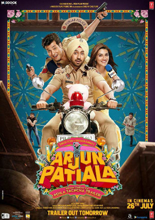 Arjun Patiala 2019 Full Hindi Movie Download HDRip 720p