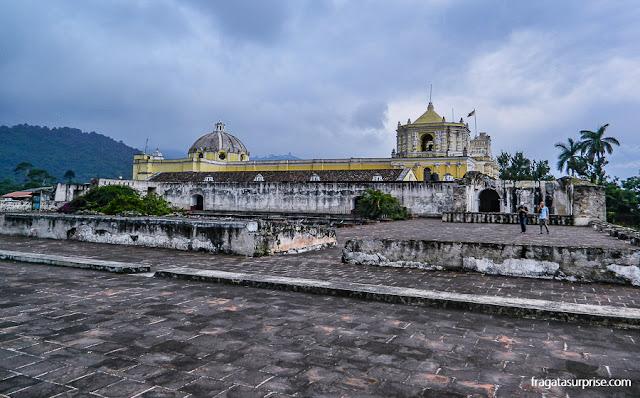 Ruínas do Convento de La Merced, em Antigua Guatemala