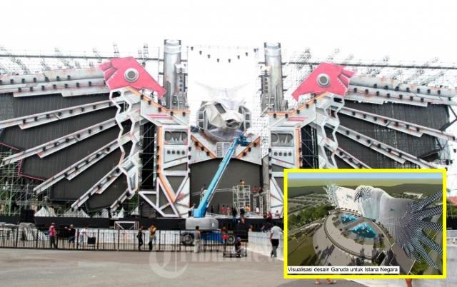 Netizen Kebangetan, Istana Negara di Ibu Kota Baru Dibilang Mirip Panggung DWP