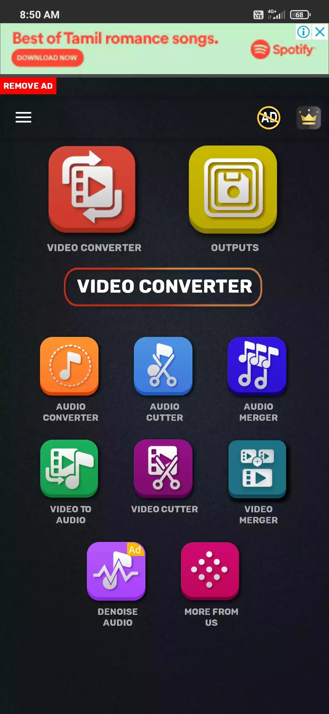audio and video converting app