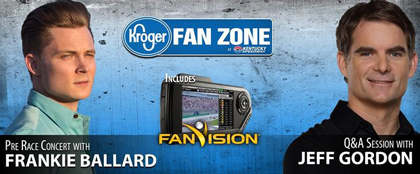 Kroger Fan Zone Takes Your Race Day Experience to the Next Level! (#NASCAR)