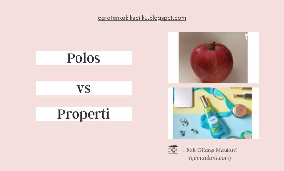 Hasil foto dengan background polos vs tambahan properti