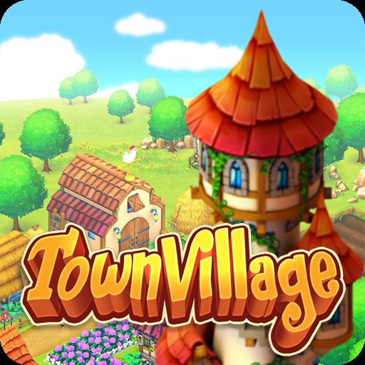 تحميل لعبه Town Village مهكره اخر اصدار