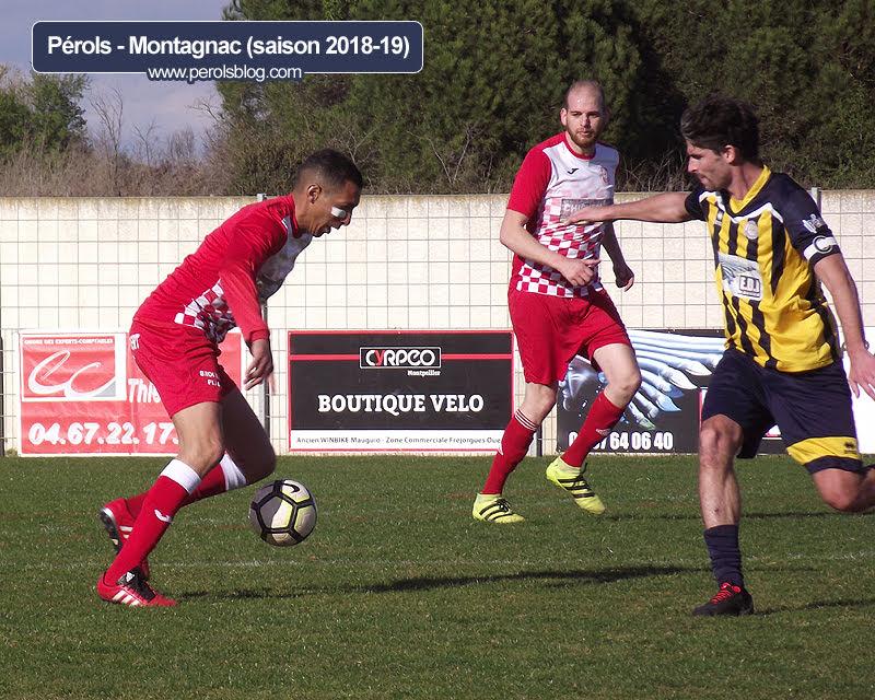 Pérols football vs Montagnac