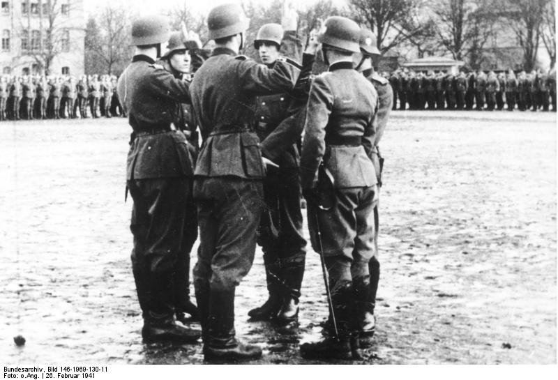 26 February 1941 worldwartwo.filminspector.com Grossdeutschland swearing in