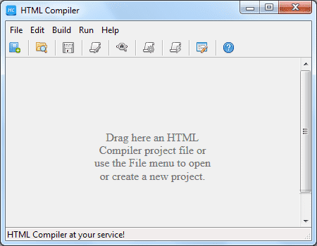 Screenshot HTML Compiler 2020.2 Full Version