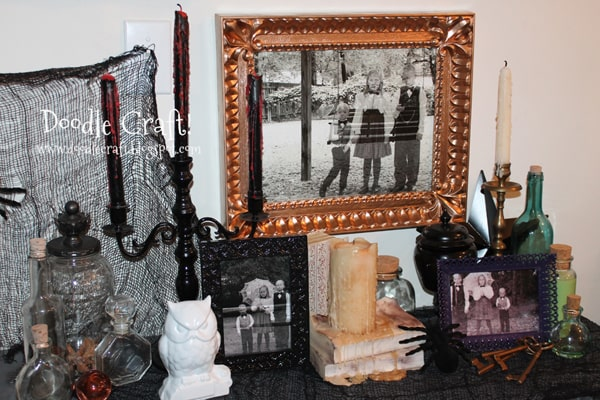 Ghosts in the graveyard--ghost hunting in the cemetery! Haunting Ghost Children caught on camera from Victorian age! Halloween Photograph Editing Tutorial, perfect for chilling Halloween decor!