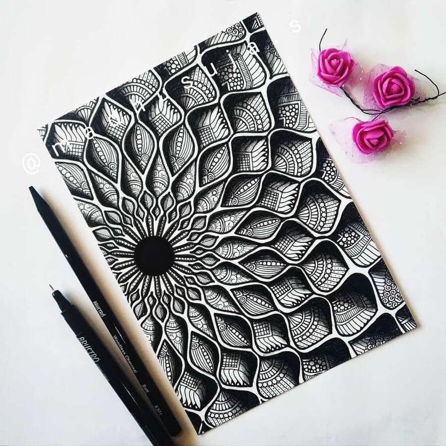 01-Ruffled-3D-effect-Madhusuja-www-designstack-co