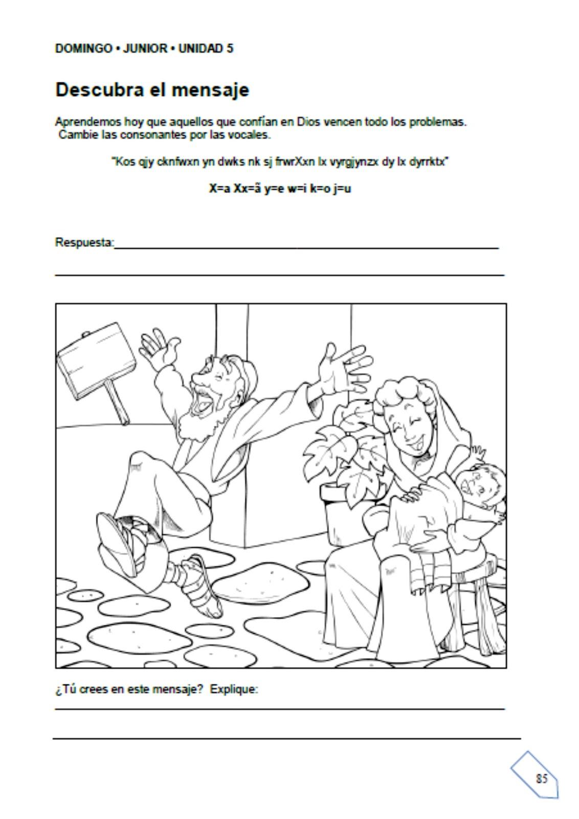 Unidad 5 Escuelita Biblica Infantil