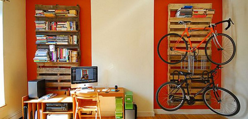 Marzua estanter as con palets ideas para decorar el hogar - Estanterias para palets ...