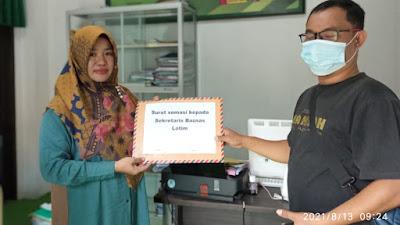 Komunitas Jurnalis Lotim Kembali Layangkan Somasi Ke Sekretaris Baznas