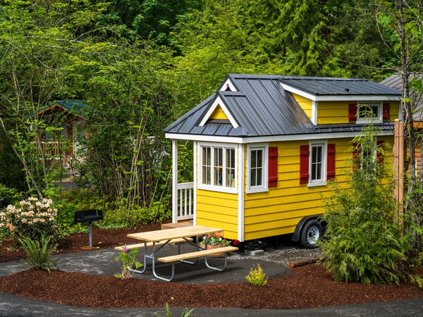 Savannah of Mt. Hood Tiny Houses