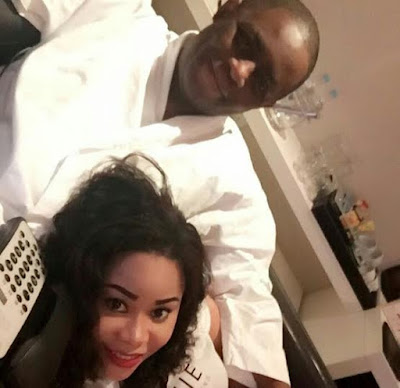 Photo: FFK's Wife, Precious celebrates his return back home