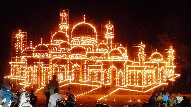 Sangat Disayangkan, Festival Lampu Colok Tradisi yang Ditiadakan