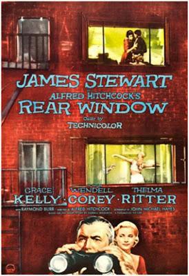 La ventana indiscreta Rear Window se lanzó en 1954 y fue dirigida por Alfred Hitchcock