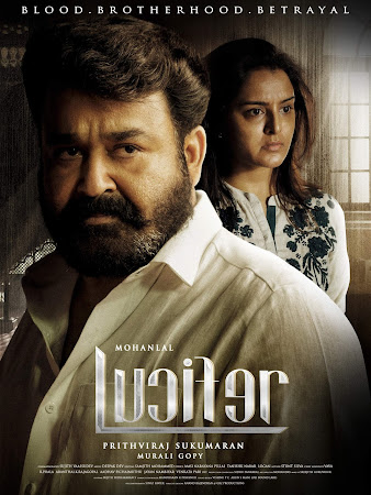 Poster Of Lucifer Full Movie in Hindi HD Free download Watch Online Malayalam Movie 720P