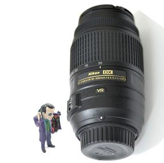 Lensa Nikon AF-S 55-300mm ED VR