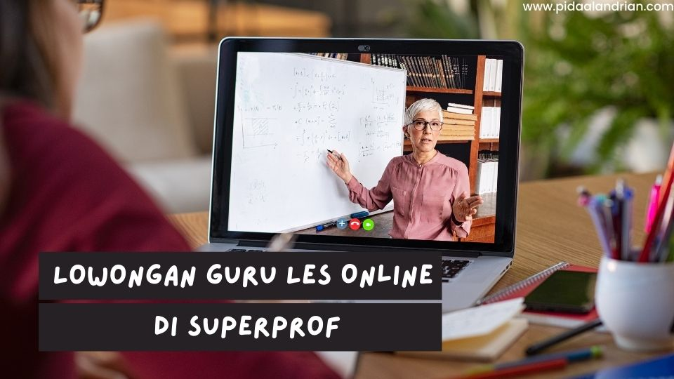 Lowongan Guru Les Online di Superprof