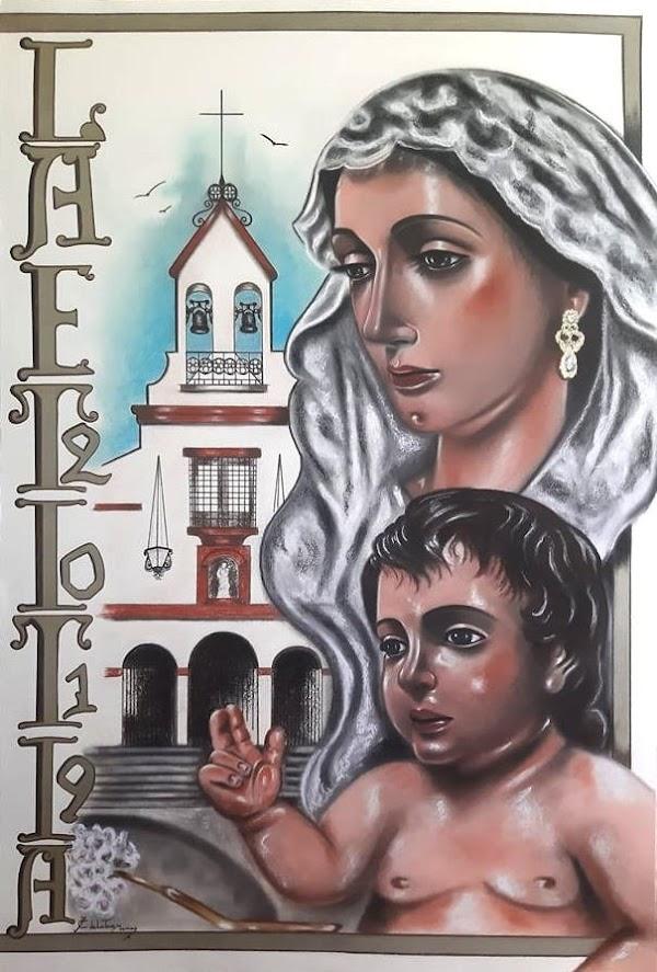 Cartel de Romeria Hdad. Romera de Ntra. Sra. de la Alegria