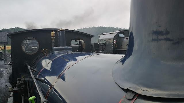 Locomotive boiler, cab & dome