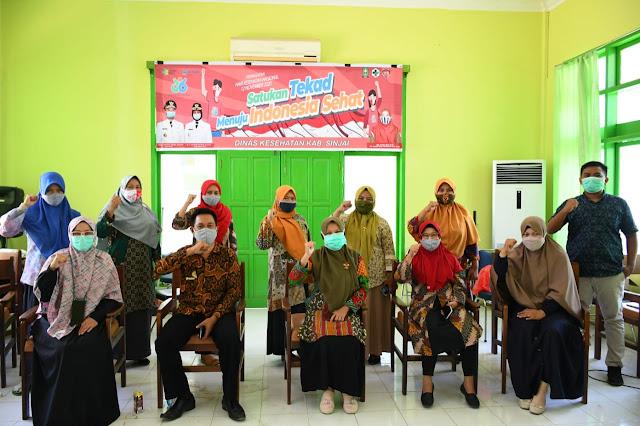 Bupati Bantaeng, H. Ilham Azikin menghadiri pendampingan implementasi Reformasi Birokrasi dan Sistem Akuntabilitas Kinerja Instansi Pemerintah (SAKIP) yang diselenggarakan oleh Kementerian Pendayagunaan Aparatur Negara dan Reformasi Birokrasi, di Claro Hotel Makassar, Kamis (12/11/2020) pagi.