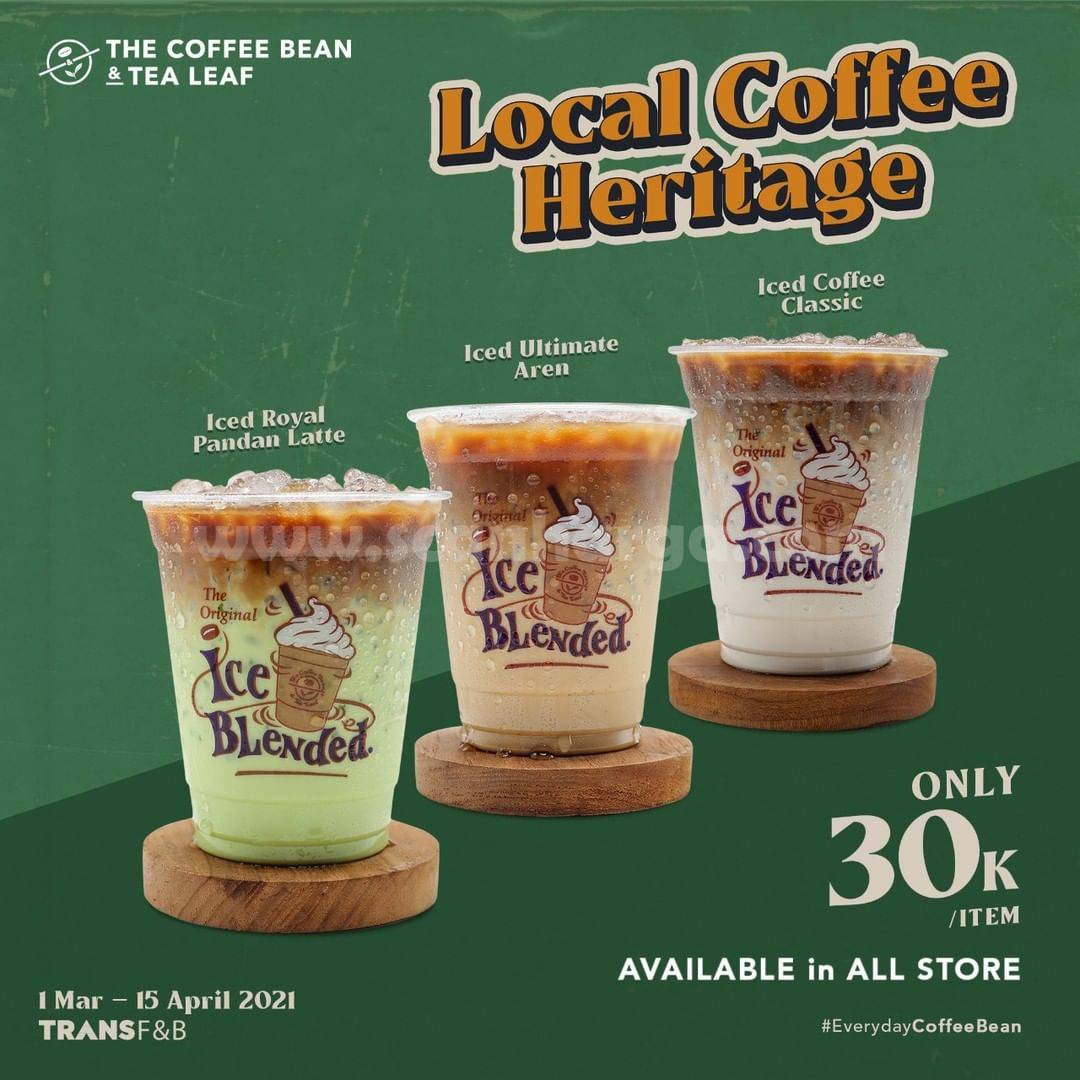 Promo The Coffee Bean 1 Maret - 15 April 2021