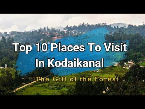 Sightseeing places in Kodaikanal