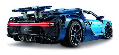mô hình siêu xe Bugatti Chrion LEGO 2