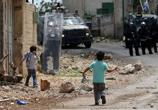 Israel army against children