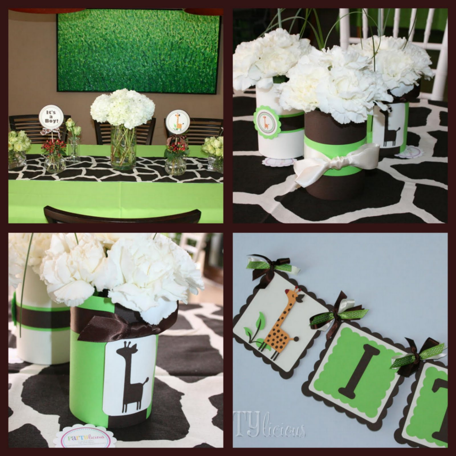 Baby Shower Food Ideas: Baby Shower Ideas Giraffe Theme