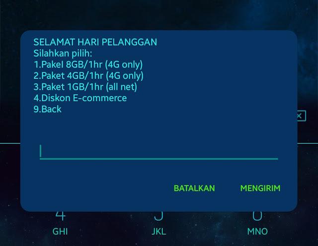 Cara Mendapatkan 8 GB Hanya 10 Poin Telkomsel (Terbatas)